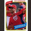 2012 Topps Archives Baseball #115 Gio Gonzalez - Washington Nationals