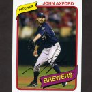 2012 Topps Archives Baseball #111 John Axford - Milwaukee Brewers