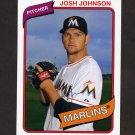 2012 Topps Archives Baseball #107 Josh Johnson - Miami Marlins