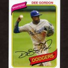 2012 Topps Archives Baseball #102 Dee Gordon - Los Angeles Dodgers