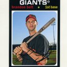 2012 Topps Archives Baseball #099 Brandon Belt - San Francisco Giants
