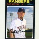 2012 Topps Archives Baseball #093 Matt Harrison - Texas Rangers