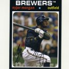 2012 Topps Archives Baseball #084 Nyjer Morgan - Milwaukee Brewers