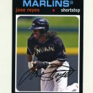2012 Topps Archives Baseball #082 Jose Reyes - Miami Marlins