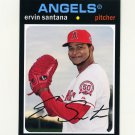 2012 Topps Archives Baseball #079 Ervin Santana - Los Angeles Angels