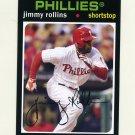 2012 Topps Archives Baseball #071 Jimmy Rollins - Philadelphia Phillies