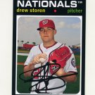 2012 Topps Archives Baseball #068 Drew Storen - Washington Nationals