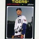 2012 Topps Archives Baseball #067 Justin Verlander - Detroit Tigers