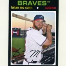 2012 Topps Archives Baseball #061 Brian McCann - Atlanta Braves