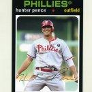 2012 Topps Archives Baseball #059 Hunter Pence - Philadelphia Phillies