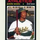 2012 Topps Archives Baseball #054 Jemile Weeks RC - Oakland Athletics