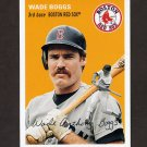 2012 Topps Archives Baseball #043 Wade Boggs - Boston Red Sox