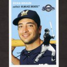 2012 Topps Archives Baseball #010 Ryan Braun - Milwaukee Brewers