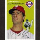2012 Topps Archives Baseball #007 Cole Hamels - Philadelphia Phillies
