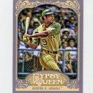 2012 Topps Gypsy Queen Baseball #294A Reggie Jackson - Oakland Athletics