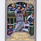 2012 Topps Gypsy Queen Baseball #292 Delmon Young - Detroit Tigers