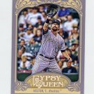 2012 Topps Gypsy Queen Baseball #284 Todd Helton - Colorado Rockies