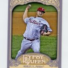 2012 Topps Gypsy Queen Baseball #277 Vance Worley - Philadelphia Phillies