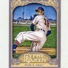 2012 Topps Gypsy Queen Baseball #267 Bob Feller - Cleveland Indians