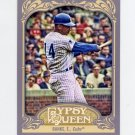 2012 Topps Gypsy Queen Baseball #264 Ernie Banks - Chicago Cubs