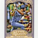 2012 Topps Gypsy Queen Baseball #248A Wade Boggs - Boston Red Sox