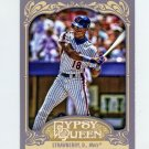 2012 Topps Gypsy Queen Baseball #245 Darryl Strawberry - New York Mets
