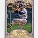 2012 Topps Gypsy Queen Baseball #243 Catfish Hunter - New York Yankees