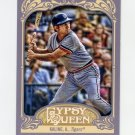 2012 Topps Gypsy Queen Baseball #242 Al Kaline - Detroit Tigers