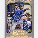 2012 Topps Gypsy Queen Baseball #212 Salvador Perez - Kansas City Royals