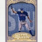2012 Topps Gypsy Queen Baseball #206 David Murphy - Texas Rangers