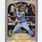2012 Topps Gypsy Queen Baseball #204 Jemile Weeks RC - Oakland Athletics