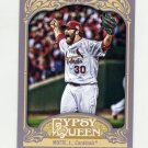 2012 Topps Gypsy Queen Baseball #202 Jason Motte - St. Louis Cardinals