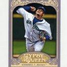 2012 Topps Gypsy Queen Baseball #200A Felix Hernandez - Seattle Mariners