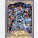 2012 Topps Gypsy Queen Baseball #181 Jeremy Hellickson - Tampa Bay Rays