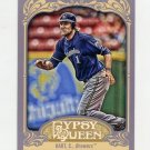 2012 Topps Gypsy Queen Baseball #166 Corey Hart - Milwaukee Brewers