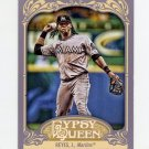 2012 Topps Gypsy Queen Baseball #137 Jose Reyes - Miami Marlins