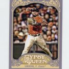 2012 Topps Gypsy Queen Baseball #105 Pablo Sandoval - San Francisco Giants