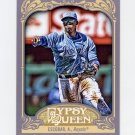 2012 Topps Gypsy Queen Baseball #081 Alcides Escobar - Kansas City Royals