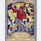 2012 Topps Gypsy Queen Baseball #074 Bobby Abreu - Los Angeles Angels