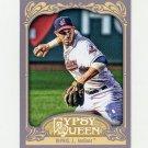 2012 Topps Gypsy Queen Baseball #064 Jason Kipnis - Cleveland Indians