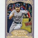2012 Topps Gypsy Queen Baseball #060A Jacoby Ellsbury - Boston Red Sox