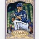 2012 Topps Gypsy Queen Baseball #058 Zack Greinke - Milwaukee Brewers