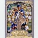 2012 Topps Gypsy Queen Baseball #052 Colby Lewis - Texas Rangers