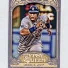 2012 Topps Gypsy Queen Baseball #050A Miguel Cabrera - Detroit Tigers