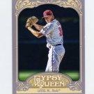 2012 Topps Gypsy Queen Baseball #021 Mat Latos - Cincinnati Reds