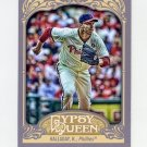 2012 Topps Gypsy Queen Baseball #010B Roy Halladay VAR SP - Philadelphia Phillies