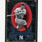 2007 SP Legendary Cuts Baseball #053 Lou Gehrig - New York Yankees