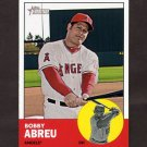 2012 Topps Heritage Baseball #335 Bobby Abreu - Los Angeles Angels