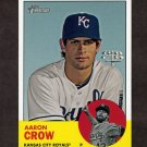 2012 Topps Heritage Baseball #075 Aaron Crow - Kansas City Royals