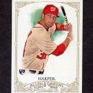 2012 Topps Allen and Ginter Baseball #012 Bryce Harper RC - Washington Nationals
